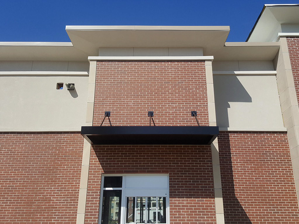 Architectural Metal Canopies Commercial Awning Contractors Indianapolis Indiana